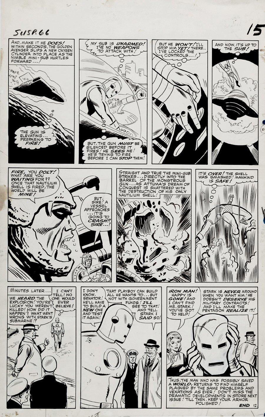 Tales of Suspense #66 p 12 (Large Art) 1964
