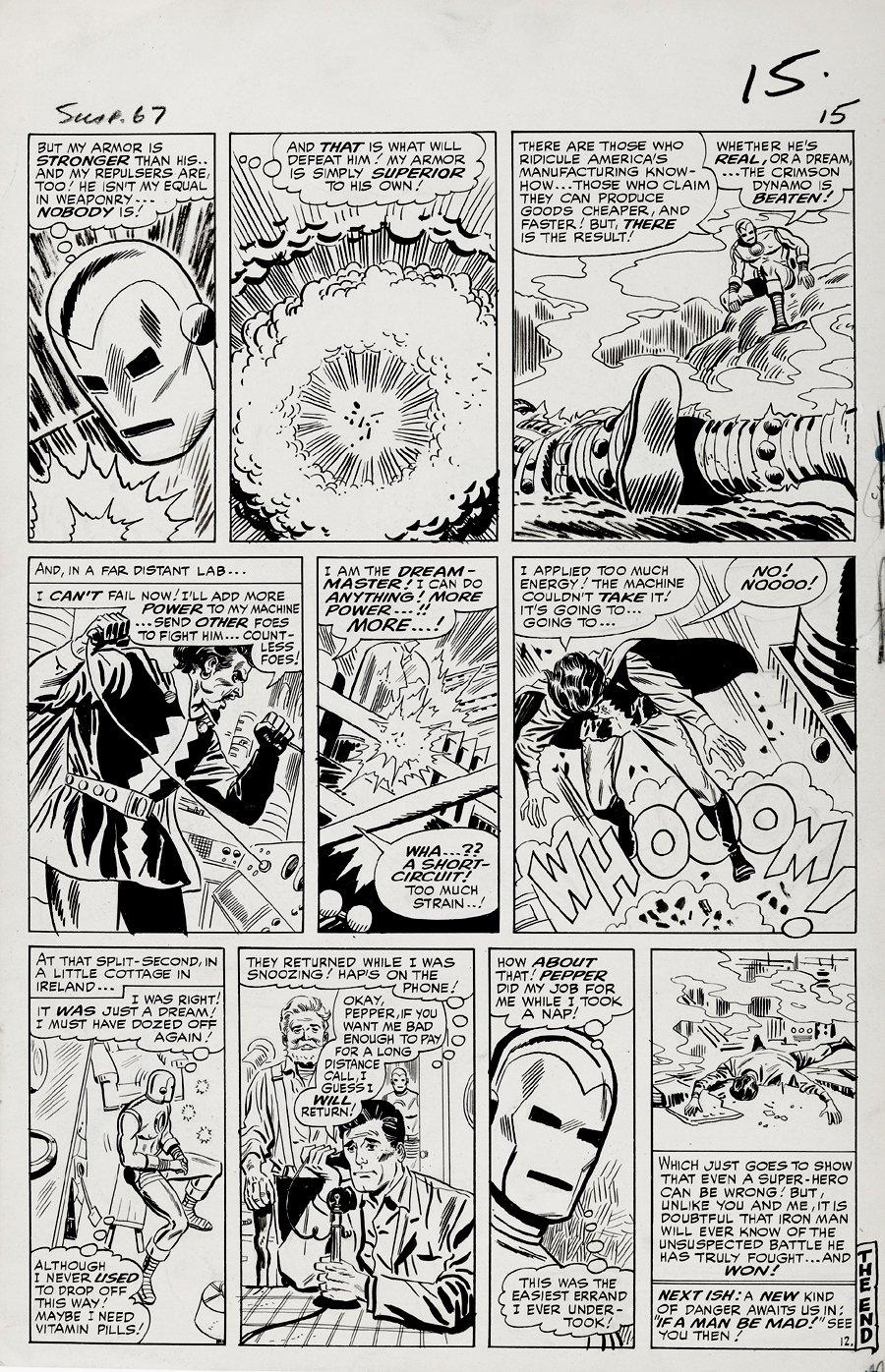 Tales of Suspense #67 p 12 (Large Art) 1964