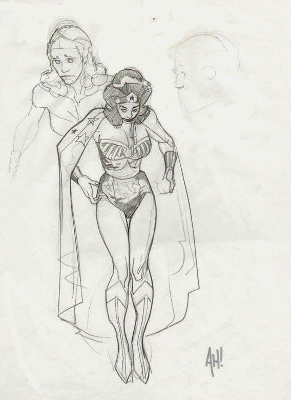 Wonder Woman Full Body Pinup
