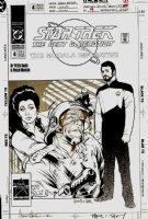 Star Trek: The Next Generation #4 Cover (1991) Comic Art