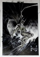 Batman Chronicles Gallery #1 Published Pinup Comic Art