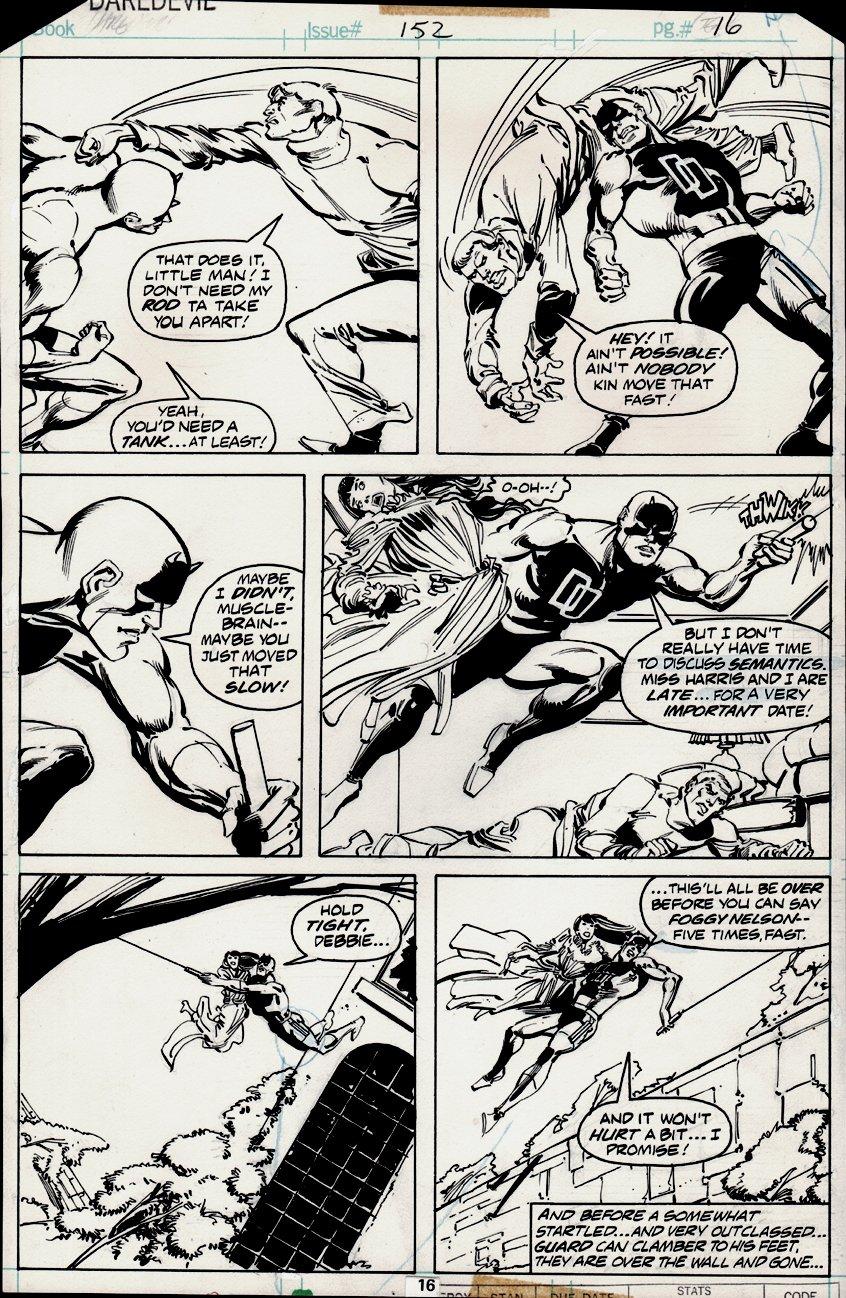 Daredevil #152 p 16 (1978)