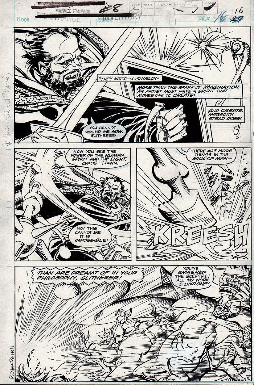 Marvel Fanfare #8 p 16 (1983)