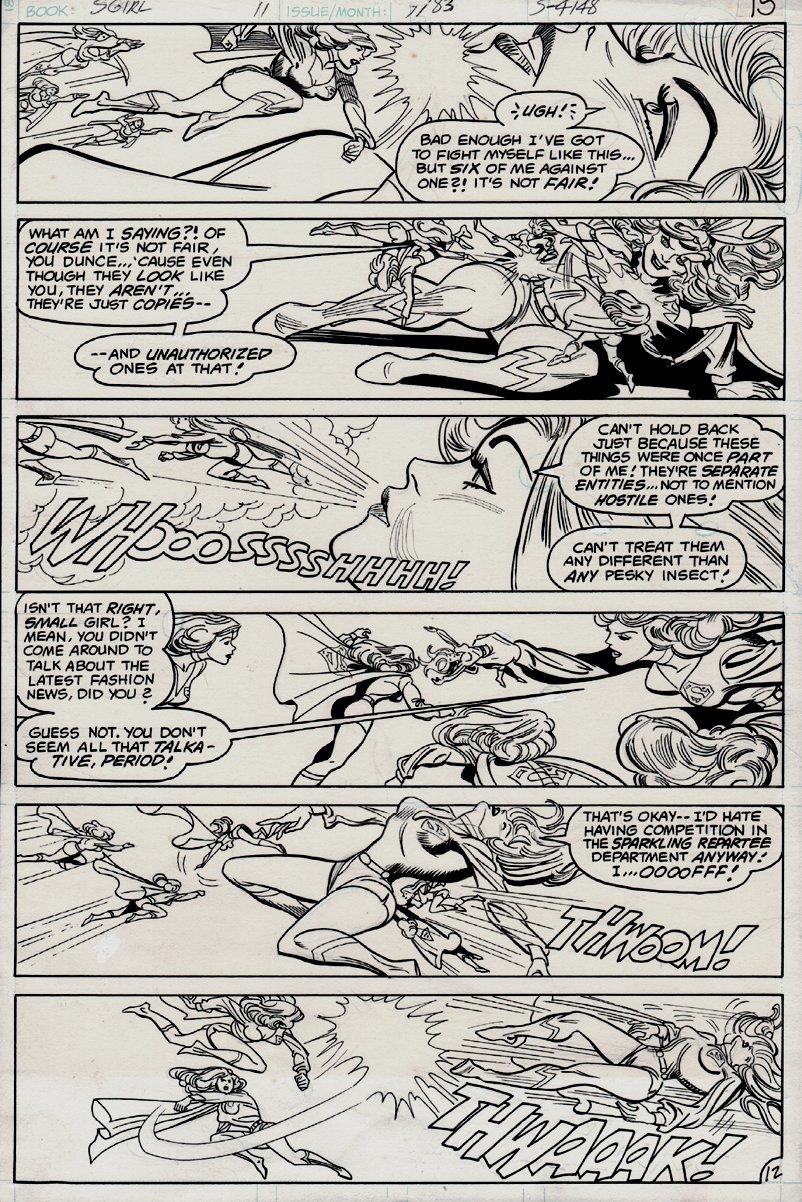 Daring New Adventures Of Supergirl #11 p 12 (1983)
