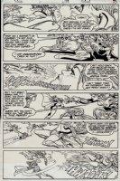 Daring New Adventures Of Supergirl #11 p 12 (1983) Comic Art