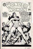 Wonder Woman #176 Unused Cover (1968) Comic Art