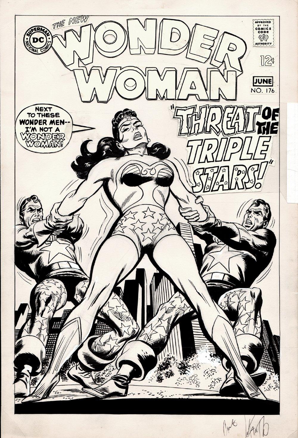 Wonder Woman #176 Unused Cover (1968)
