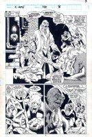 Uncanny X-Men #263 p 8 SPLASH (1990) Comic Art