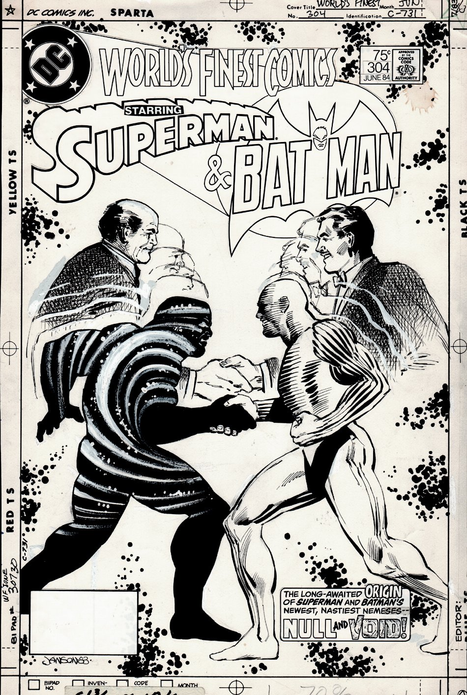 World's Finest Comics #304 Cover (1983)