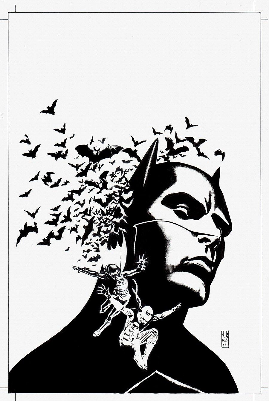 Batman and Robin #26 Cover (2011)