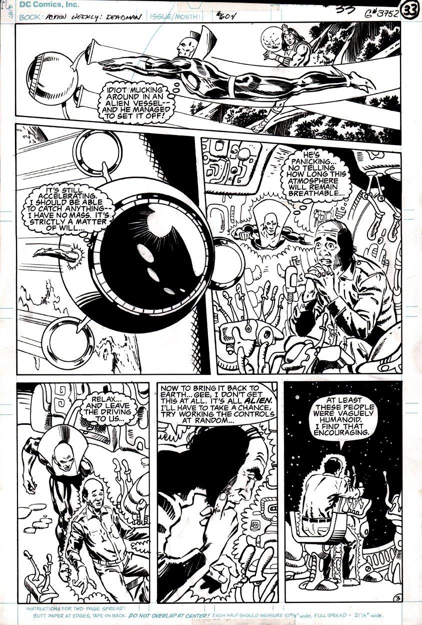 Action Comics Weekly #604 p 3 (DEADMAN!) 1988