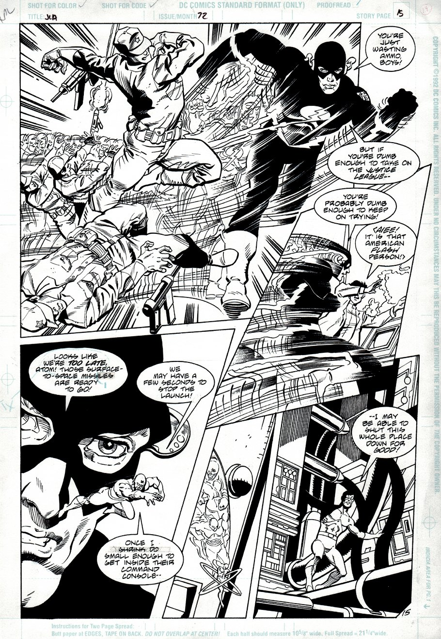 Justice League America #72 p 15 (1992)