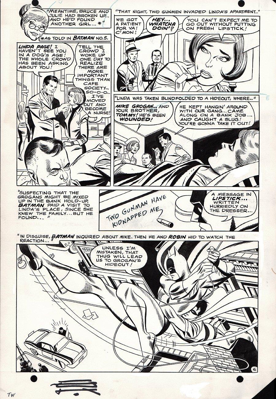 Batman #208 p 6 (1968)