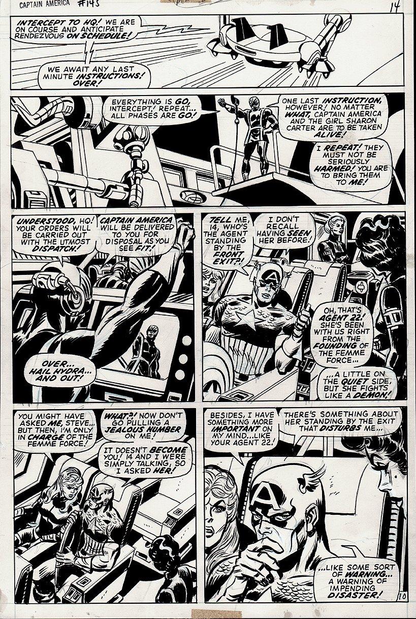 Captain America #145 p 10 (1971)