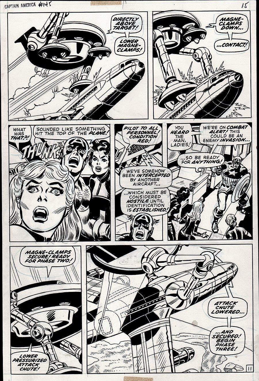 Captain America #145 p 11 (1971)