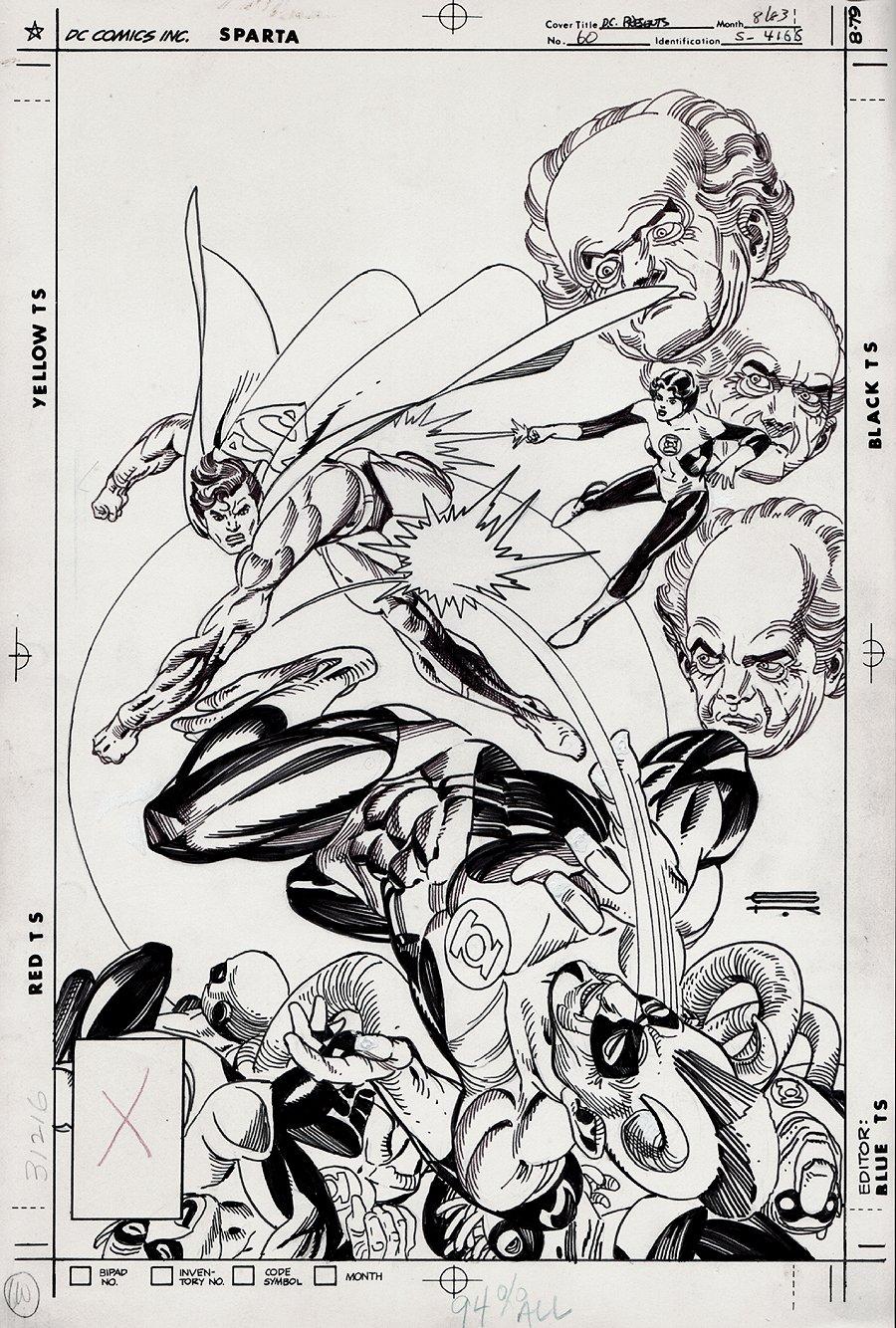 DC Comics Presents #60 Cover (1983)