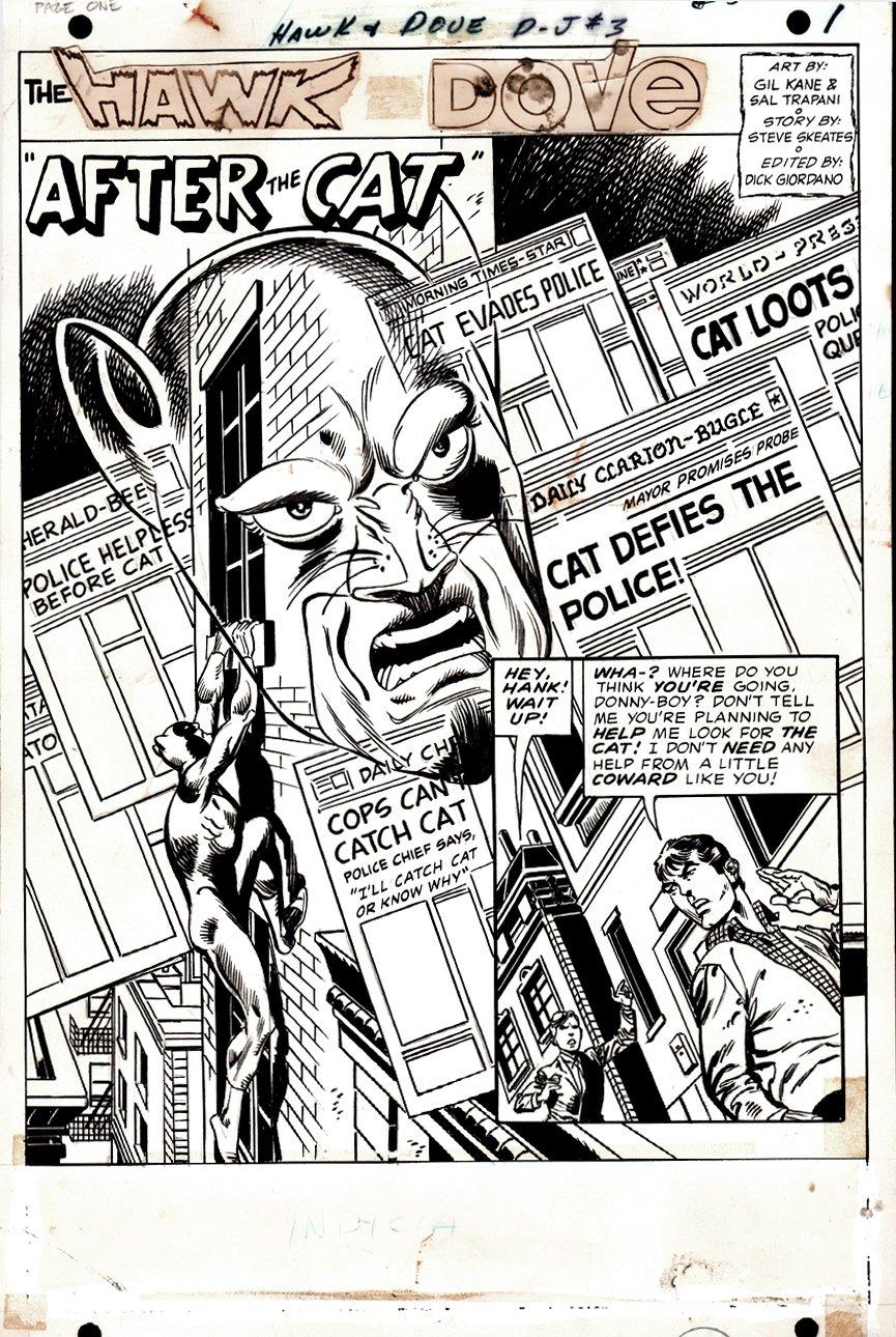 Hawk and the Dove #3 p 1 SPLASH (1968)