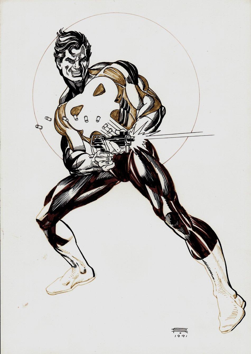 Punisher Detailed Pinup (1991)
