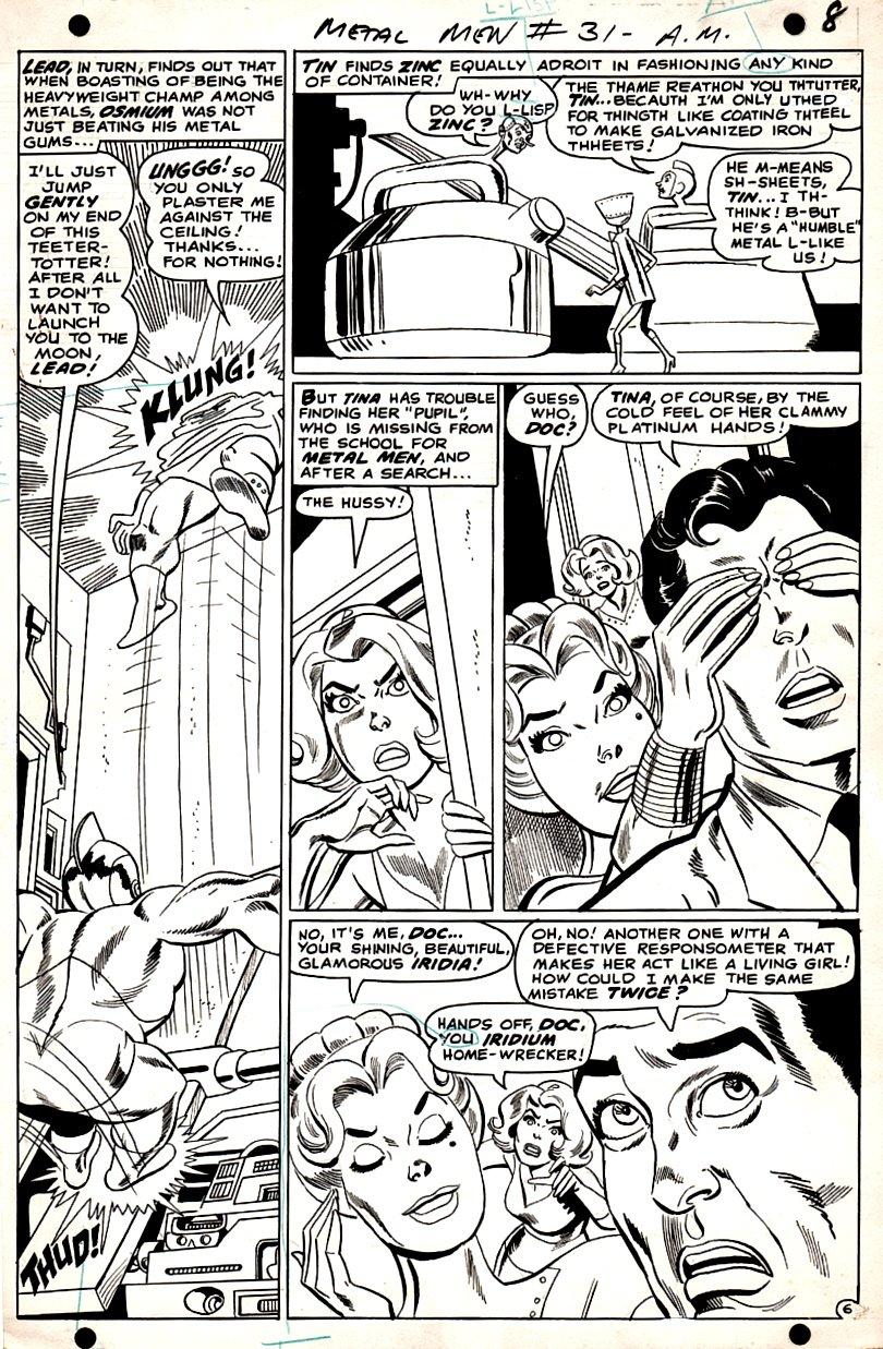 Metal Men #31 p 6 (1967)