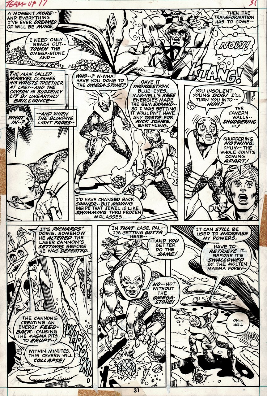 Marvel Team-Up #17 p 31 (1973)