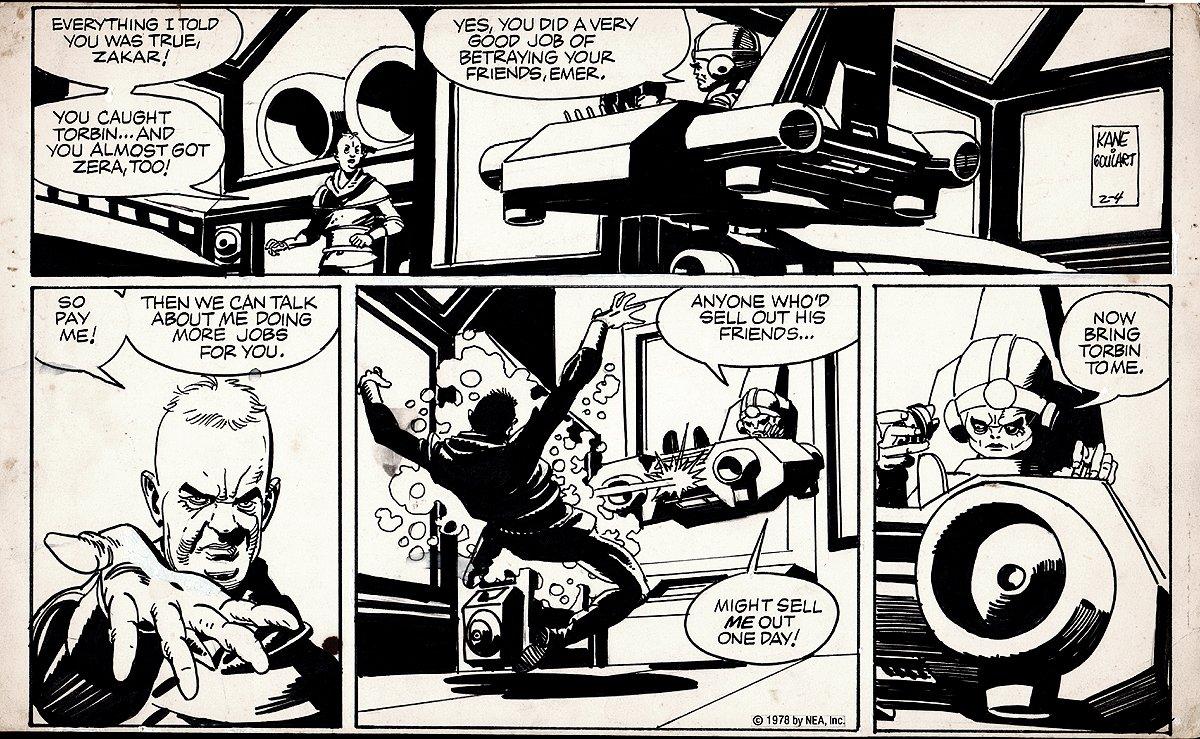 Star Hawks Sunday Strip (2-4-1978)