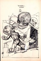 Amazing Spider-Man #181 Cover Mockup (1978) Comic Art