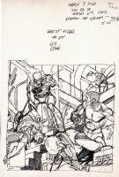 Ghost Rider #24 Cover Prelim (1977) Comic Art