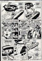Captain America #145 p 11 (1971) Comic Art