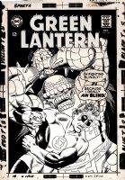 Green Lantern #56 Cover (Large Art) 1967 Comic Art