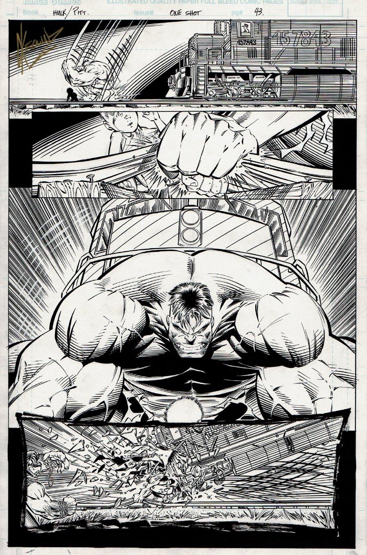 Hulk / Pitt #1 p 43 Semi-Splash (1996)