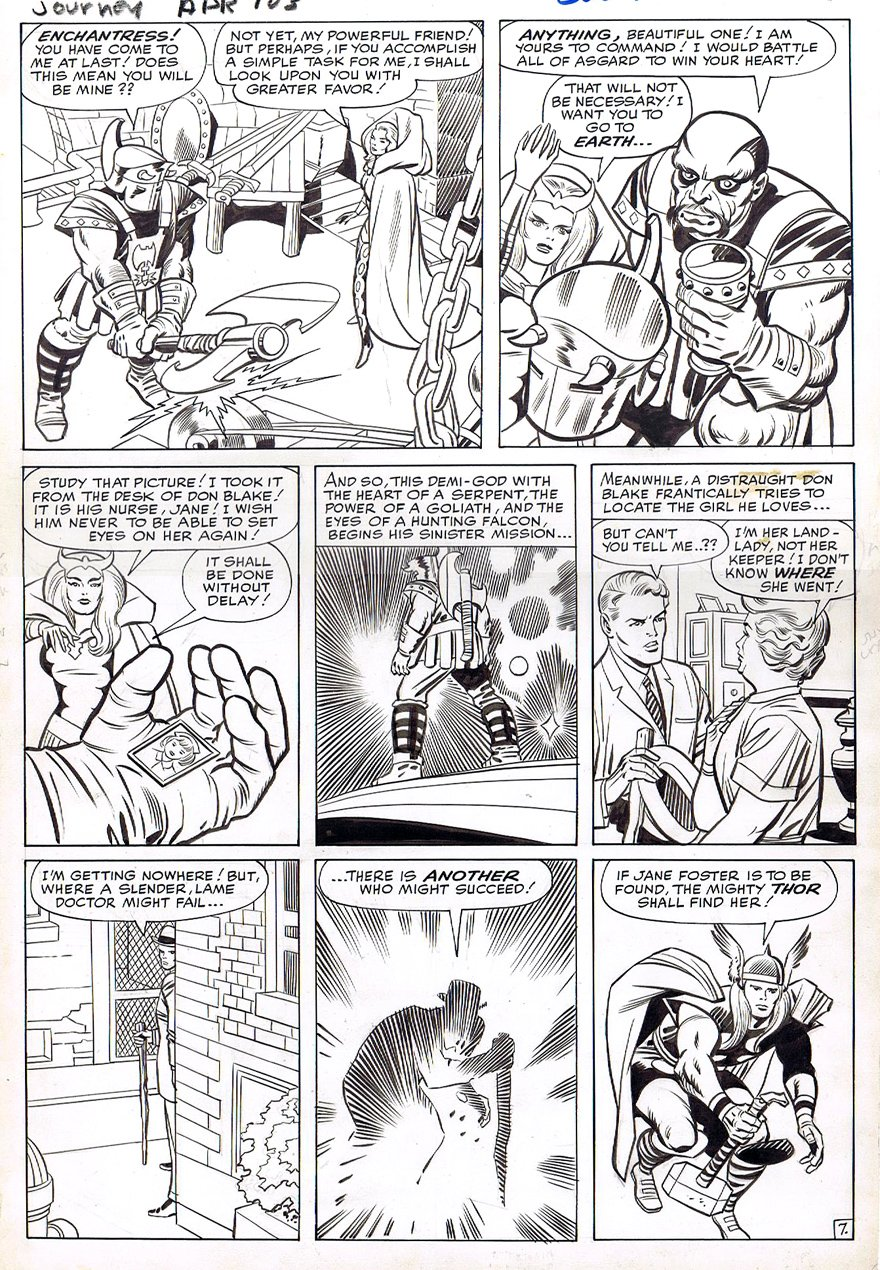 Journey Into Mystery #103 p 7 (Large Art) 1963