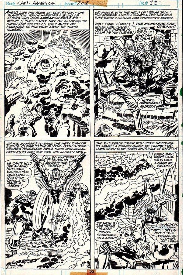 Captain America #203 p 22 (1976)