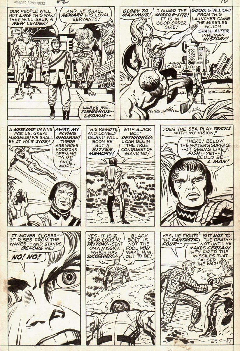 Amazing Adventures #2 p 7 (1970)