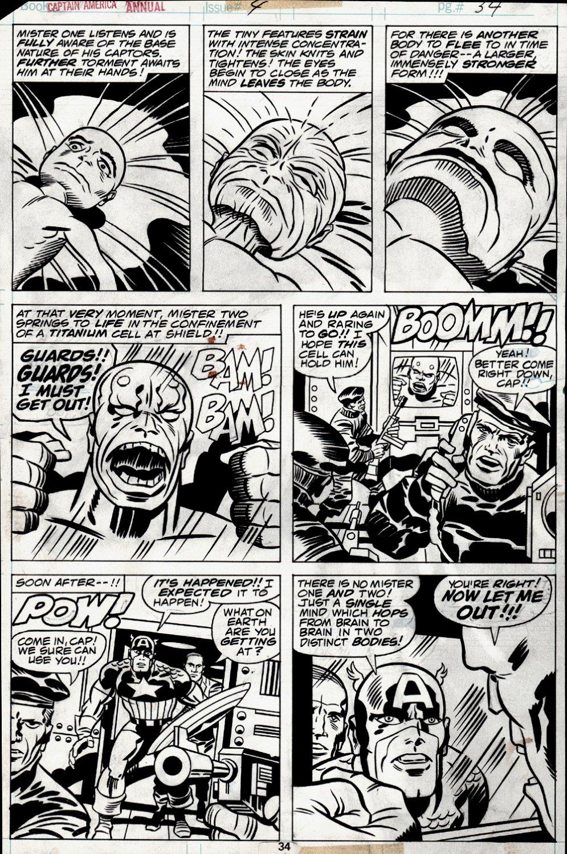 Captain America Annual #4 p 34 (1977)