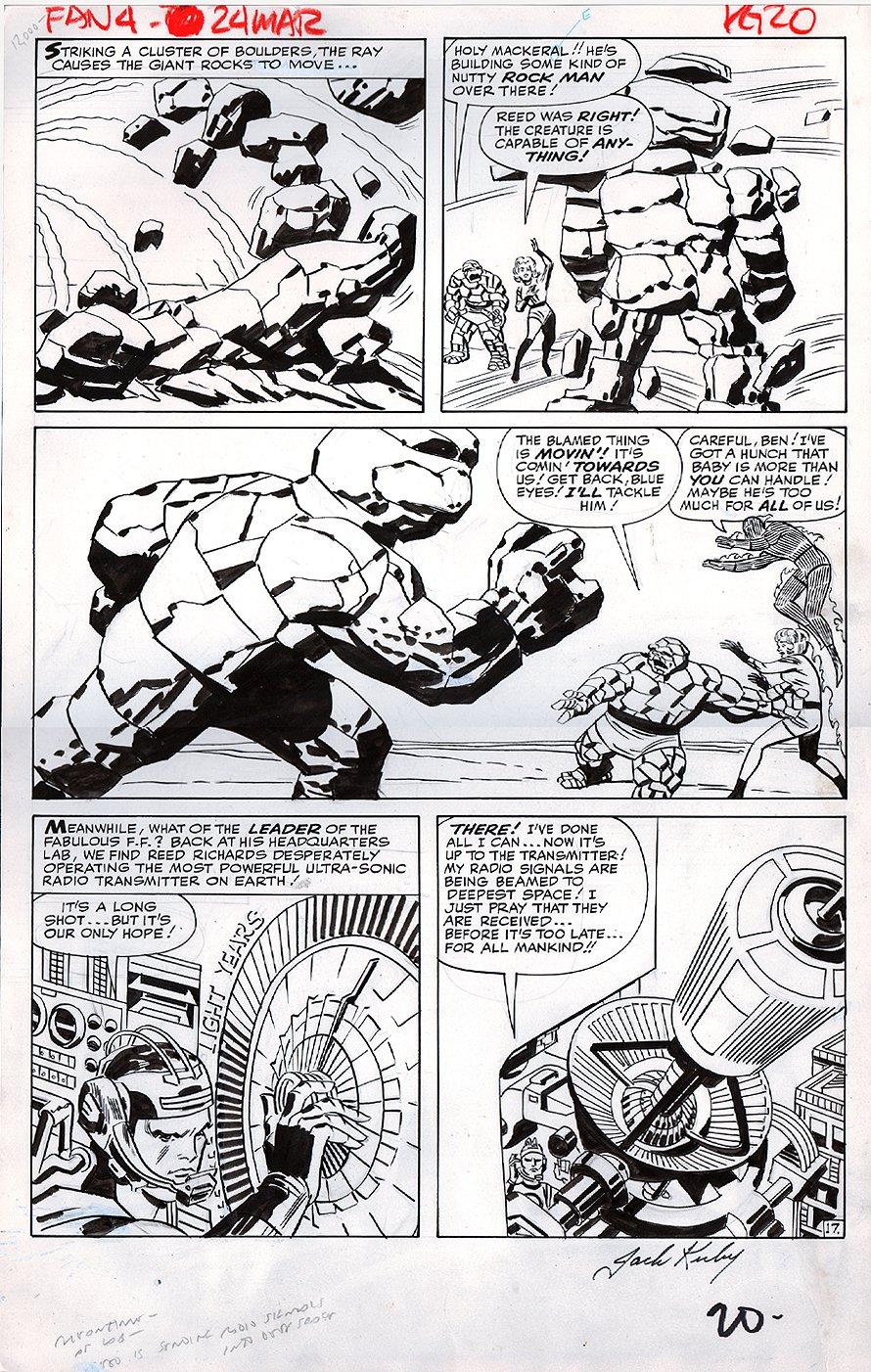 Fantastic Four #24 p 17 (LARGE ART) 1963