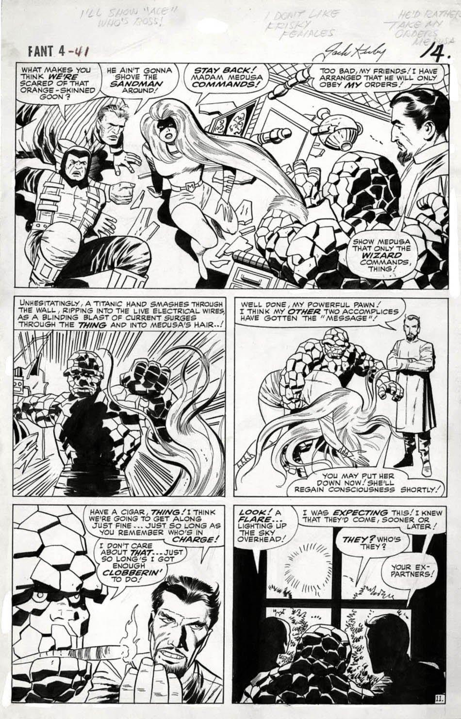 Fantastic Four #41 p 11 (Large Art) 1965