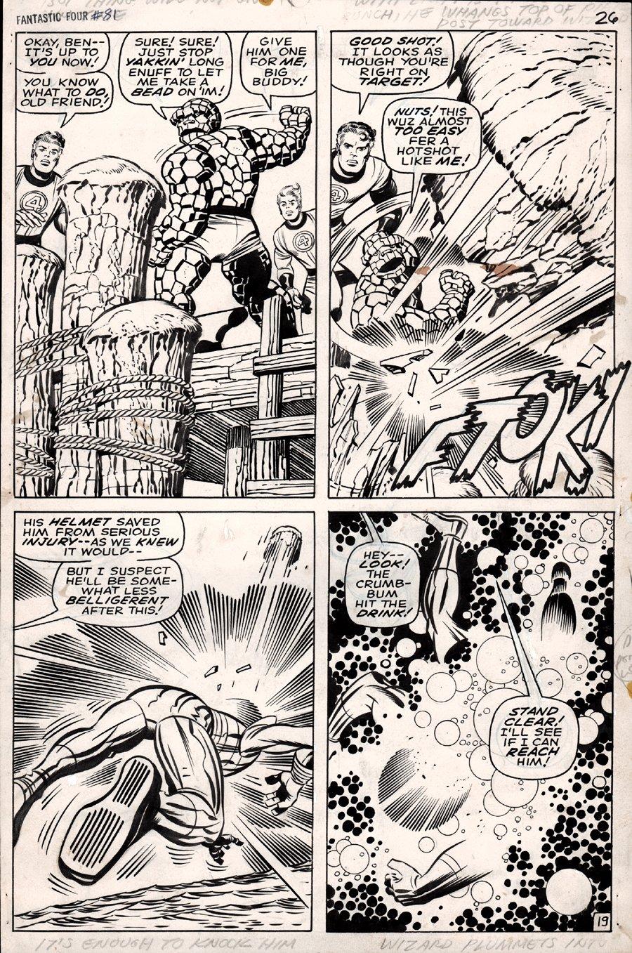 Fantastic Four #81 p 19 (1968)