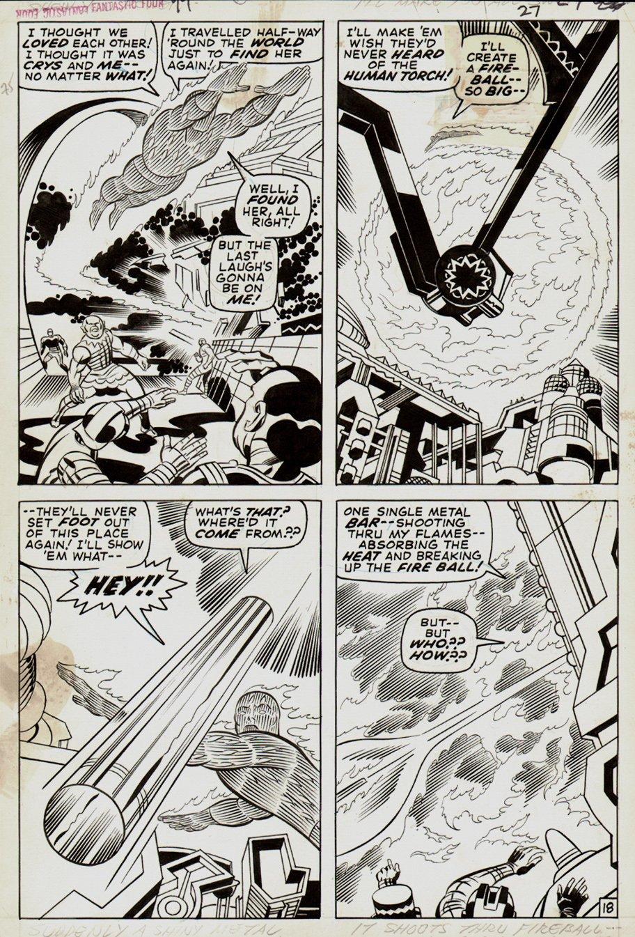 Fantastic Four #99 p 18 (1970)