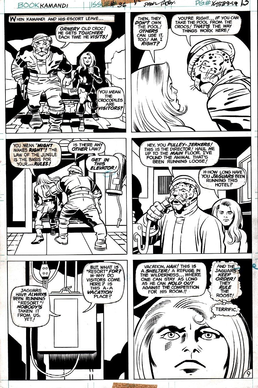 Kamandi #36 p 9 (1975)