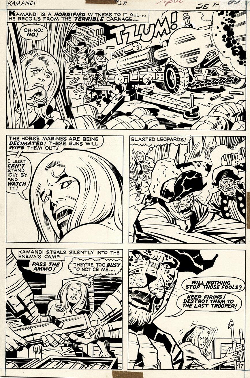 Kamandi #28 p 17 (1975)