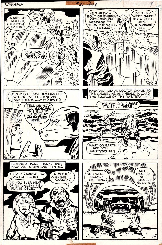 Kamandi #31 p 7 (1975)