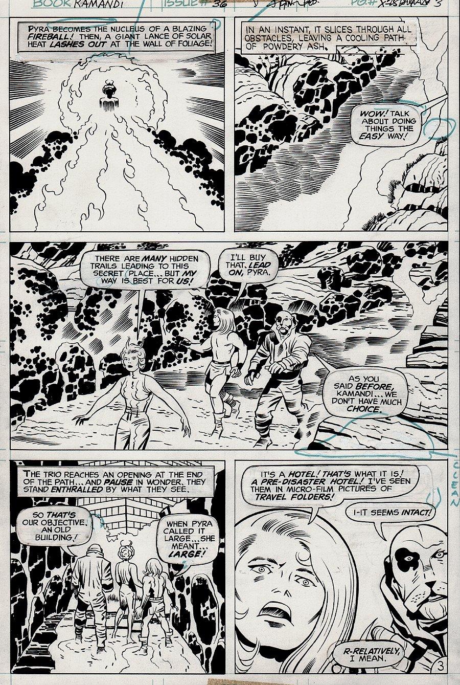 Kamandi #36 p 3 (1975)