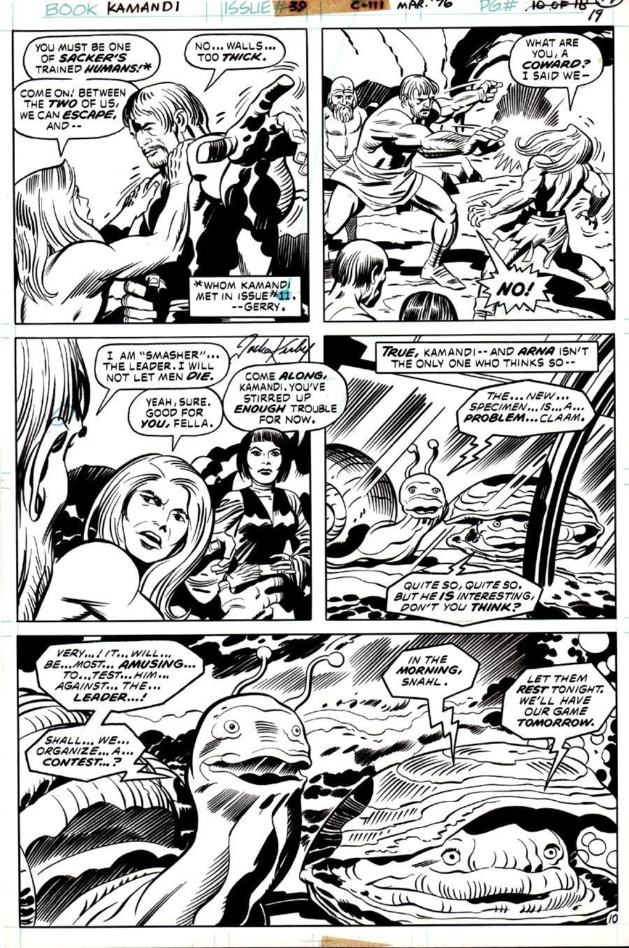 Kamandi #39 p 10 (1975)