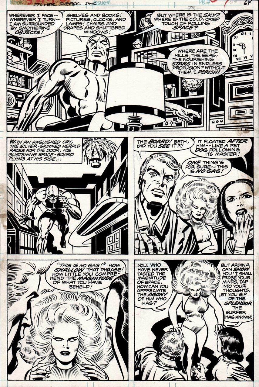 Silver Surfer Graphic Novel (1978)