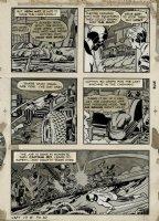 Captain 3-D #1 p 30 (Large Art) 1953 Comic Art
