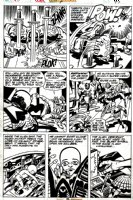 Captain America Annual #4 p 45 (1977) Comic Art