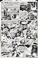 Devil Dinosaur #1 p 11 SPLASH (FIRST ISSUE AND FIRST MEETING PAGE!) 1978 Comic Art