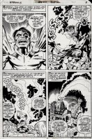 Eternals #16 p 3 (ALL HULK PAGE) 1977 Comic Art