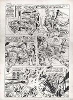 Stuntman #3 p 8 (Large Art) 1946 Comic Art