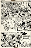 Kamandi #28 p 17 (1975) Comic Art